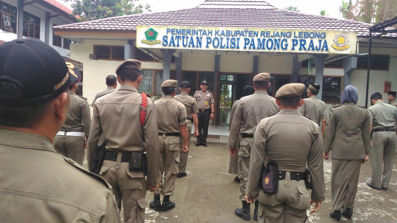 Pembinaan Satpol PP dan Polsus Kabupaten Rejang Lebong