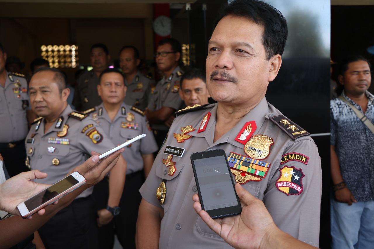 Tim Asistensi dan Supervisi Mabes Polri Beri Arahan Internal di Polres Bengkulu