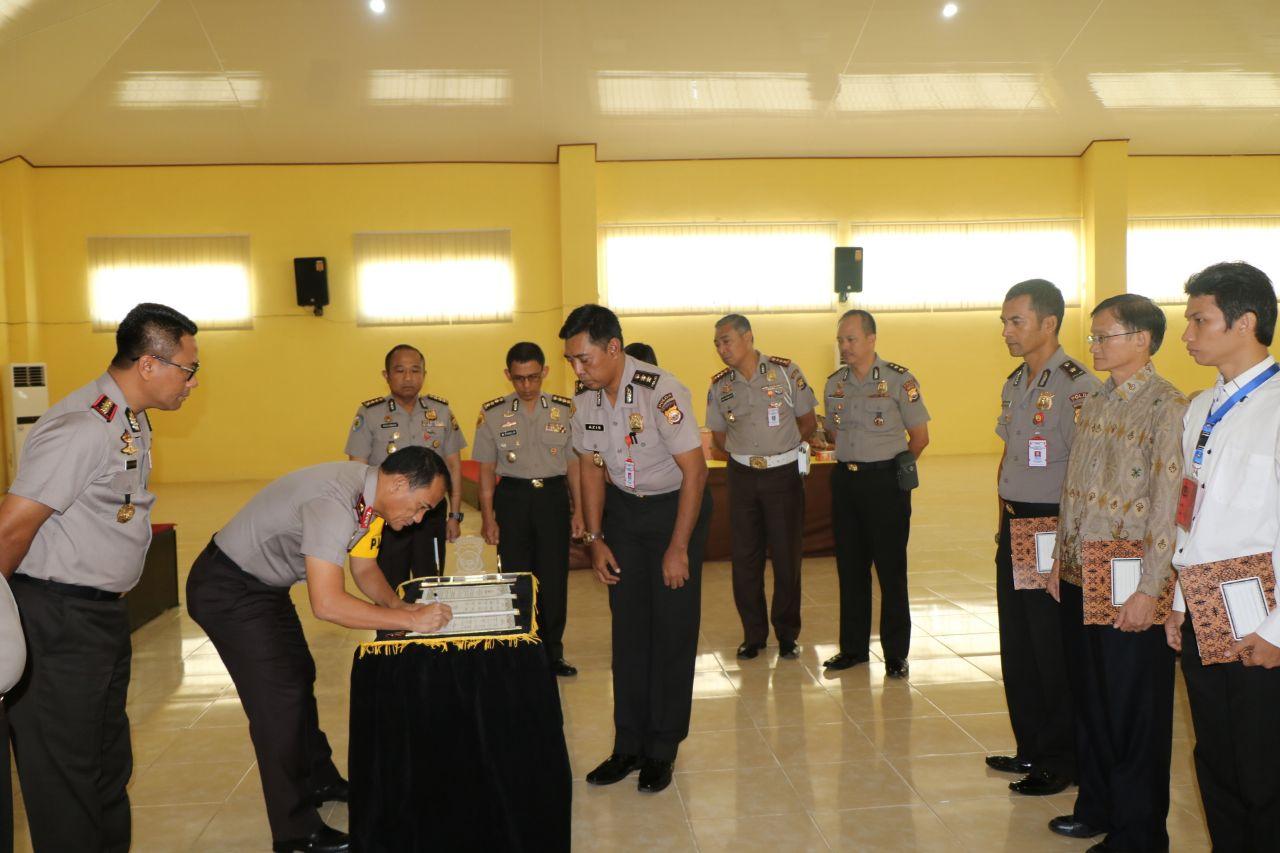 Penandatanganan Pakta Integritas Seleksi Penerimaan SIPSS Polda Bengkulu