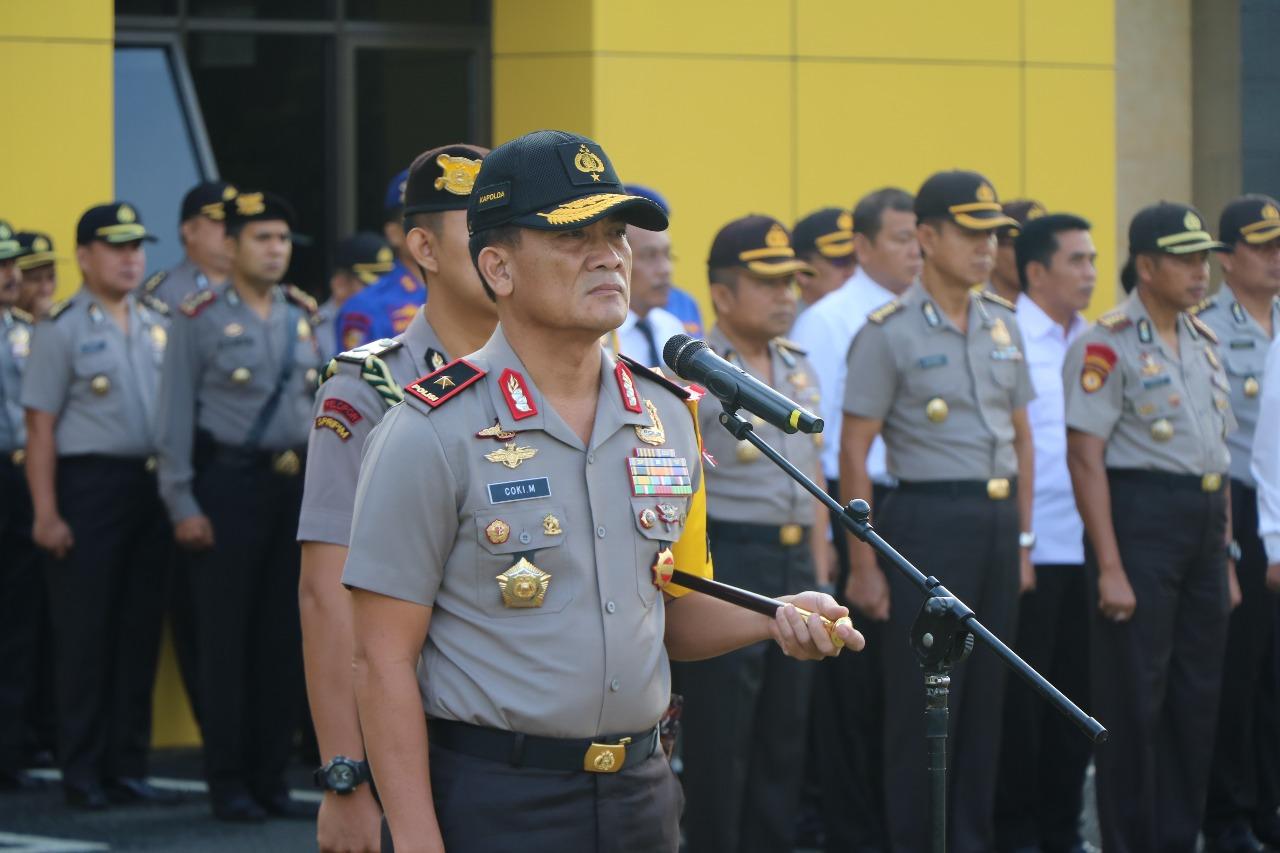 "Kapolda Bengkulu; Proses Rekruitmen Terapkan ""BETAH"""