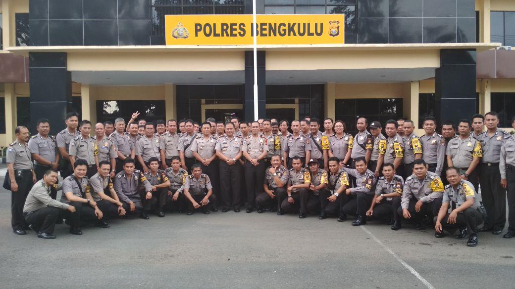 Pengamanan Pilwakot Bengkulu, Dir Binmas Beri Arahan Bhabinkamtibmas