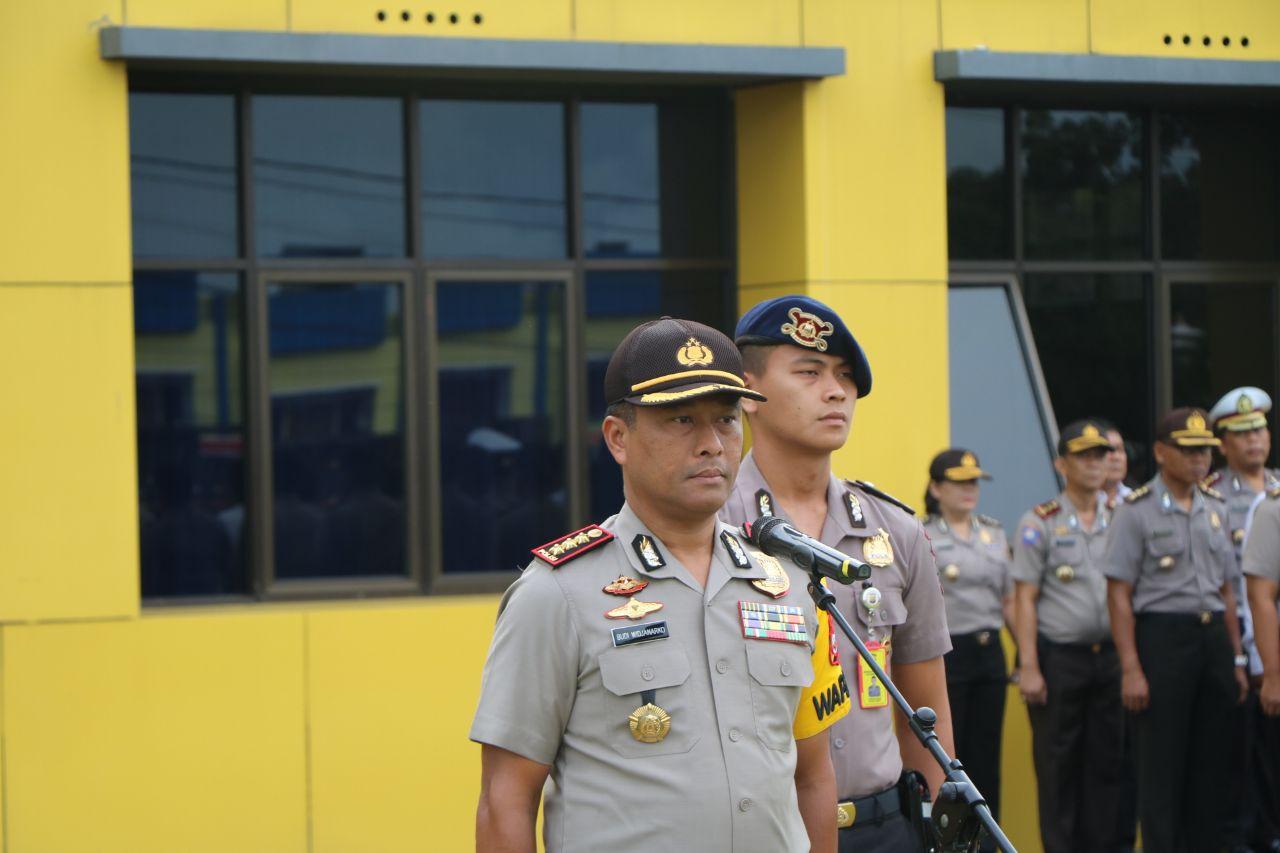 Pilwakot 2018, Wakapolda Bengkulu Minta Dukungan Seluruh Anggota Sukseskan Pengamanan