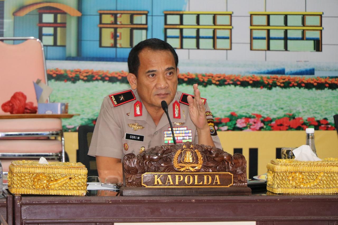 Kabid Humas Polda Bengkulu; Hindari Sikap Underestimate Menghadapi Tugas Harkamtibmas