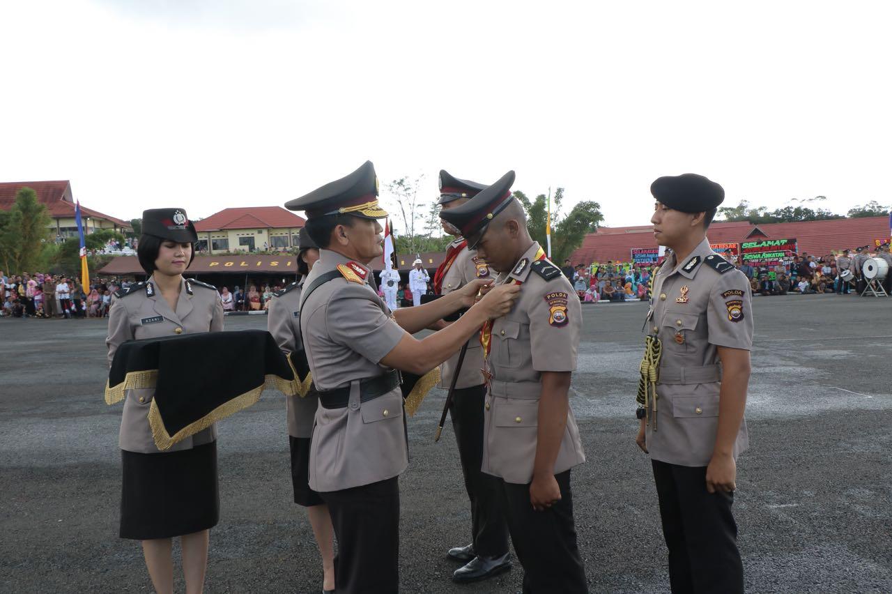 Kapolda Bengkulu Lantik 146 Polisi Baru