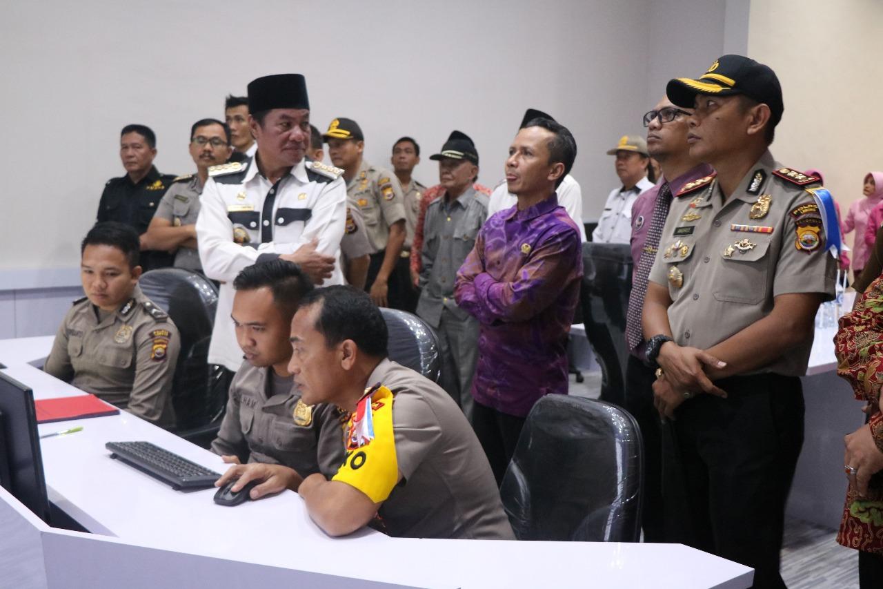 Kapolda Bengkulu Resmikan Command Centre Polres Lebong