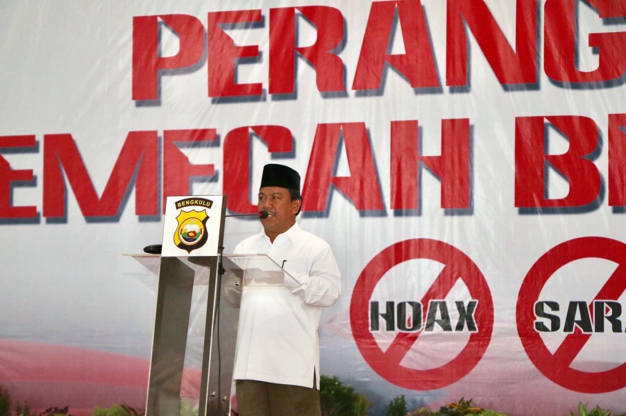 Ketua MUI Provinsi Bengkulu; Hoax Itu Haram Hukumnya