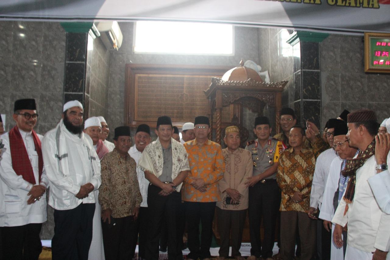 Kapolri laksanakan Sholat Dhuhur Berjamaah Bersama Ulama Provinsi Bengkulu