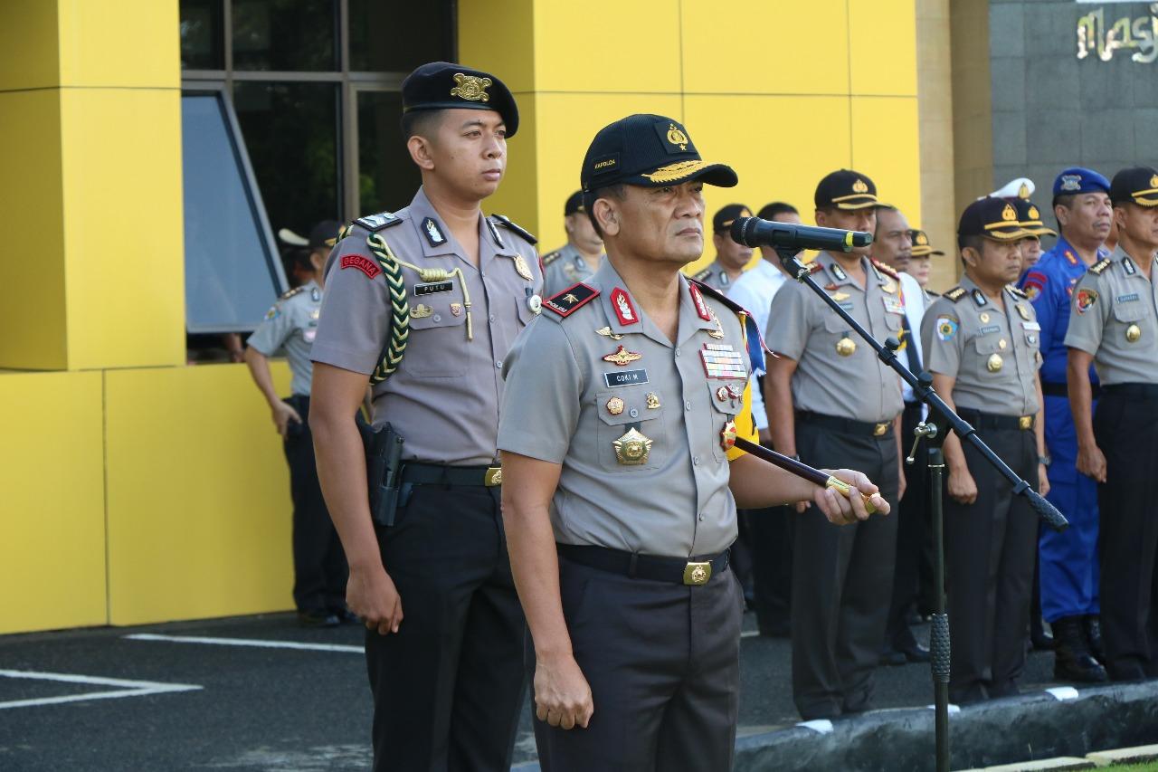 Kapolda Bengkulu; Terimakasih Kepada Anggota, Atas Pelaksanaan Tugas Yang Baik