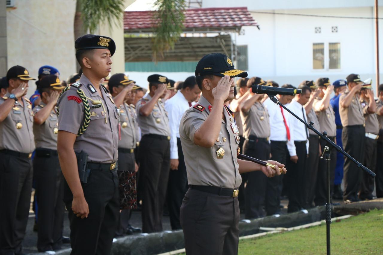 Kapolda Bengkulu; Asah dan Tingkatkan Roh Kepolisian, Dengan Memberikan Pelayanan Sebagai Pengabdian