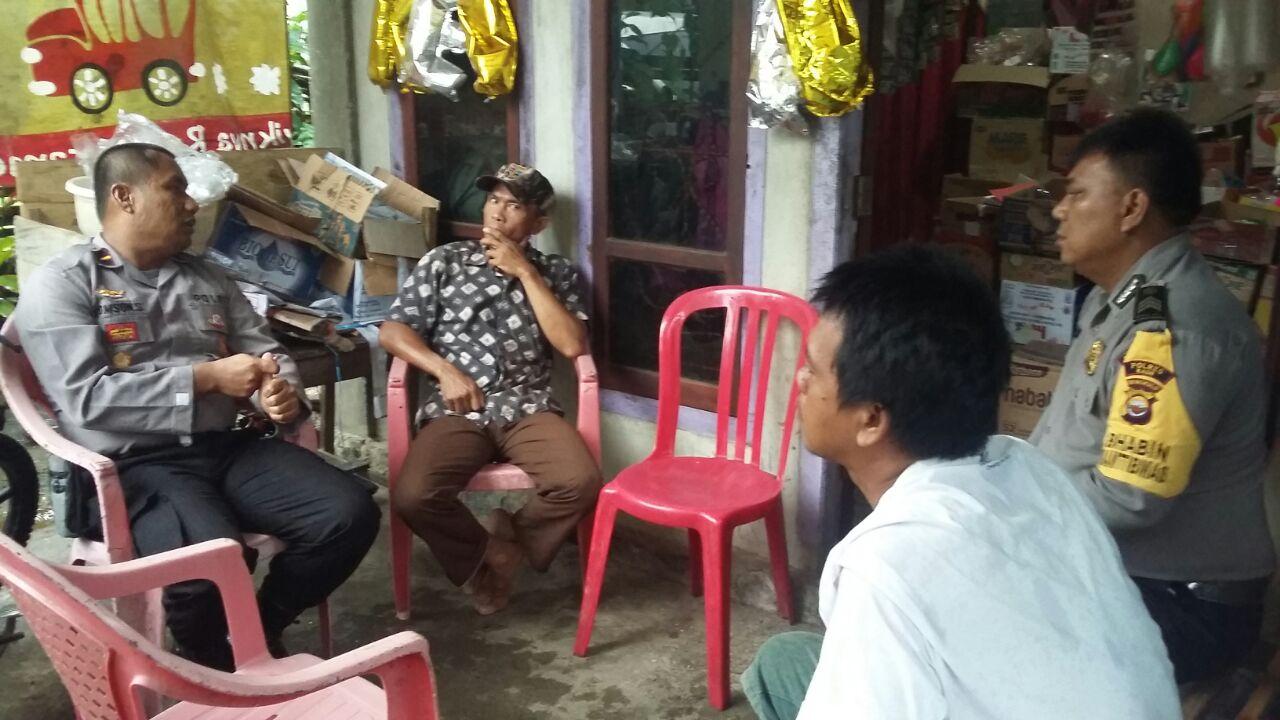 Kapolsek Kaur Utara Sampaikan Hasil Rapat Bersama Pemda, Perwakilan Warga Padang Guci Hilir Ucapkan Terimakasih