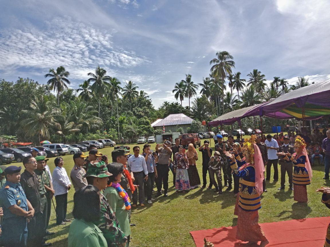 Pembukaan TMMD di Kabupaten Kaur Provinsi Bengkulu