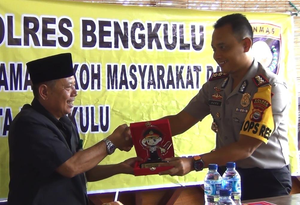Ketua NU Kota Bengkulu; Ulama Bengkulu Siap Bersinergi, Dukung Polri Jaga Kamtibmas