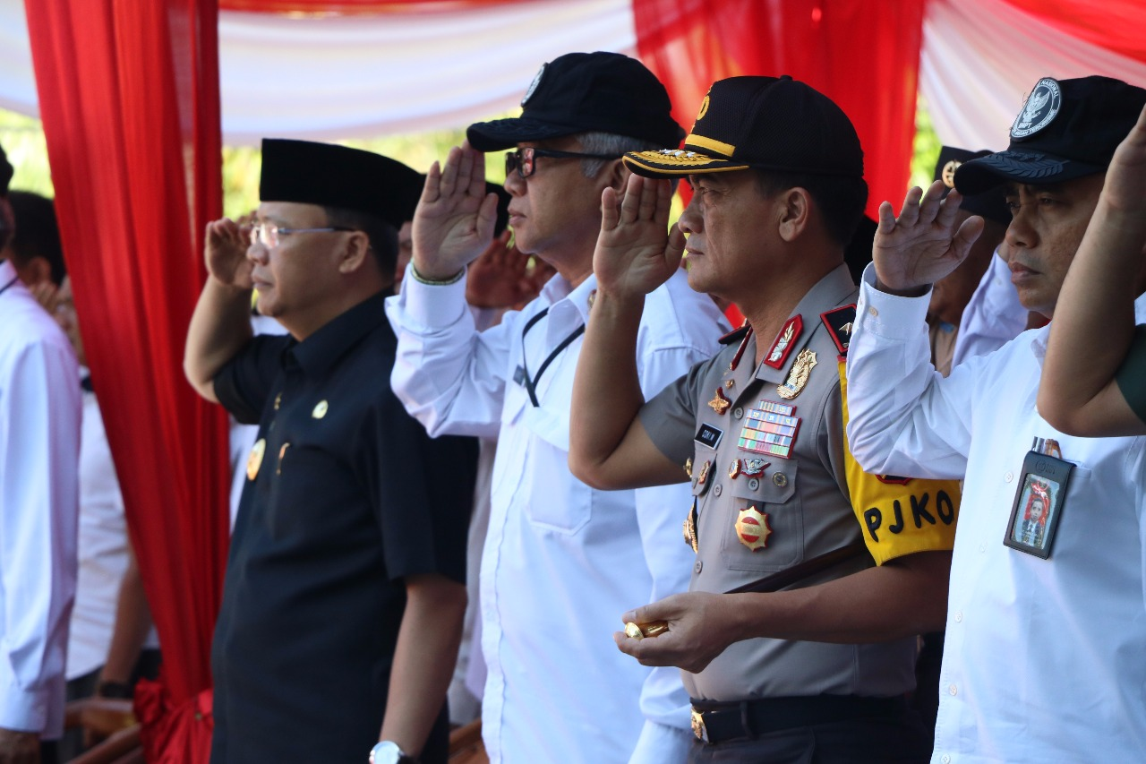 Kapolda Bengkulu Hadiri Upacara Menjadi Indonesia