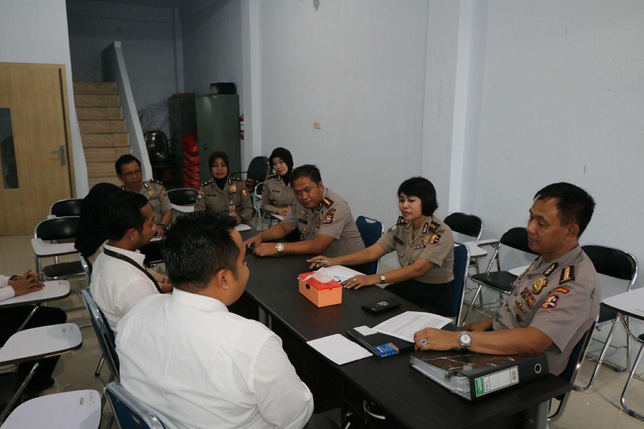 Audit BUJP, Tim Mabes Polri Kunjungi Provinsi Bengkulu