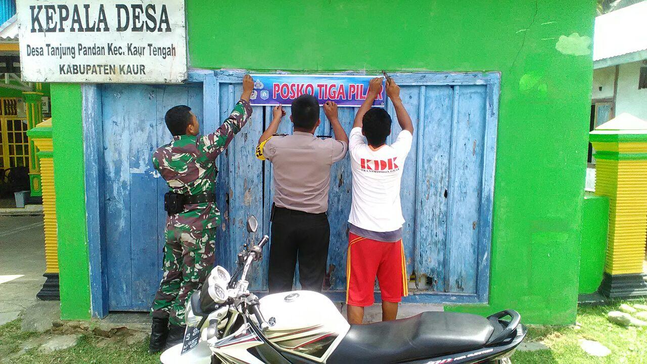 Posko Tiga Pilar Desa Tanjung Pandan Kabupaten Kaur