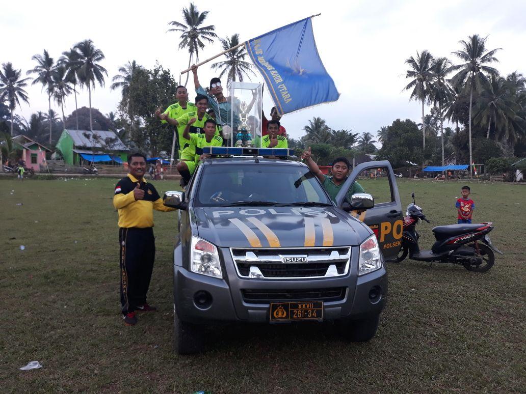 Juara Turnamen Padang Guci Hulu Cup 2018, Kesebelasan Desa Bandu Agung Boyong Piala Bergilir