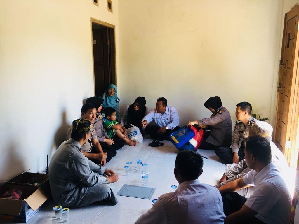 Temukan Anak Terlantar Melalui Medsos, Polres Kepahiang Fasilitasi Penitipan ke Panti Asuhan