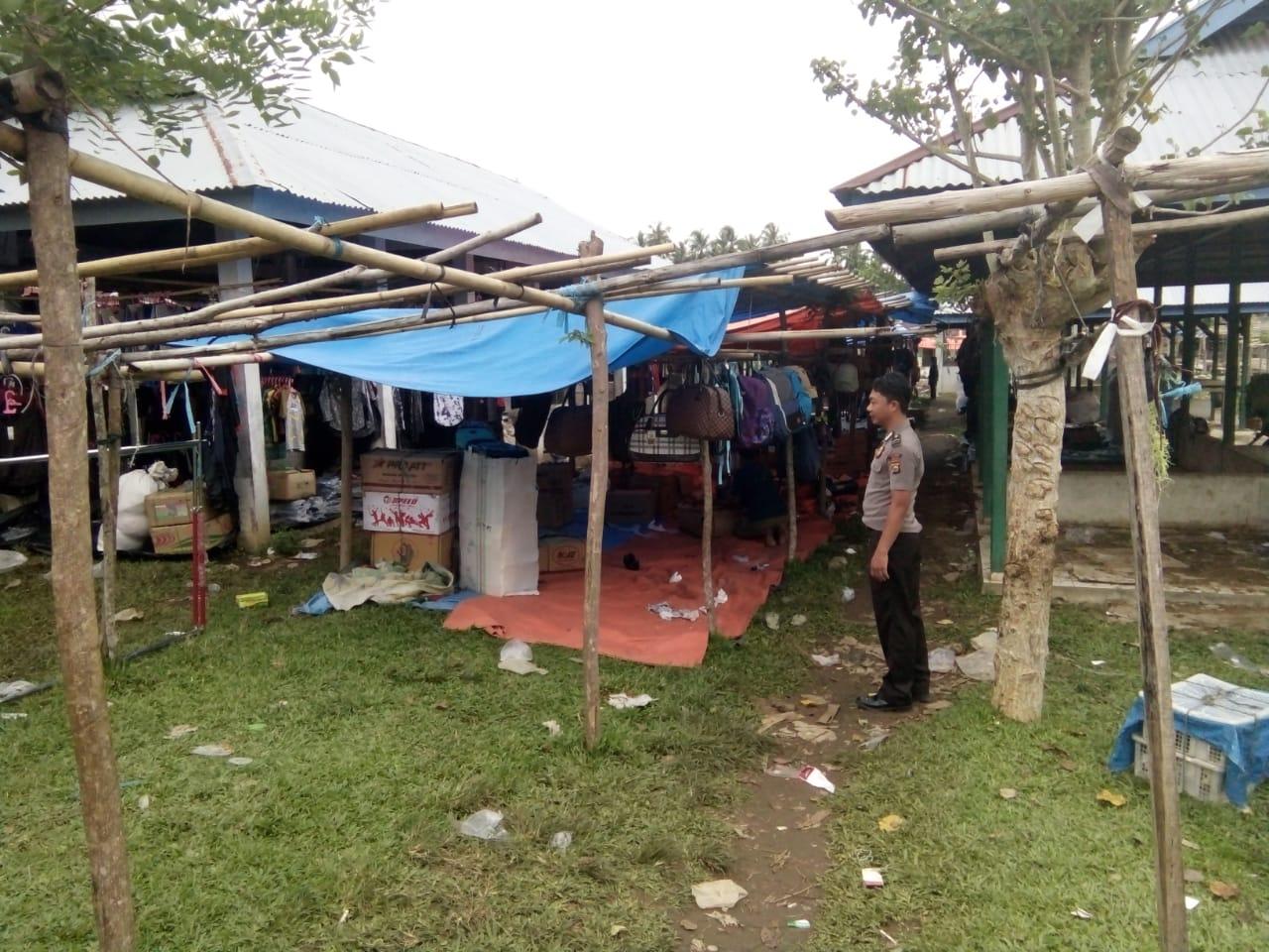Patroli Dialogis, Polsek Kaur Utara Sambang Pasar