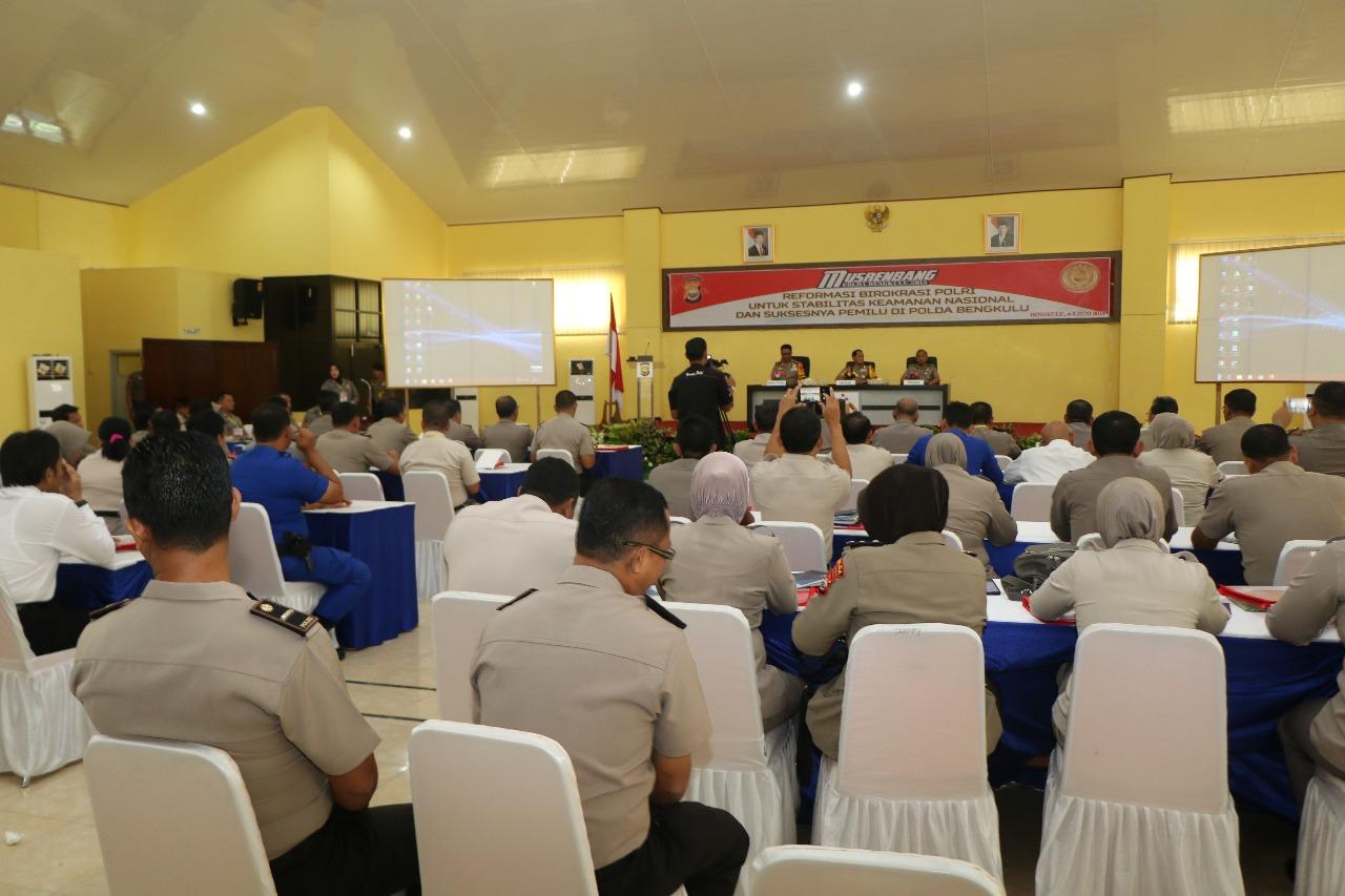 Kapolda Bengkulu Buka Musrembang Tahun 2018