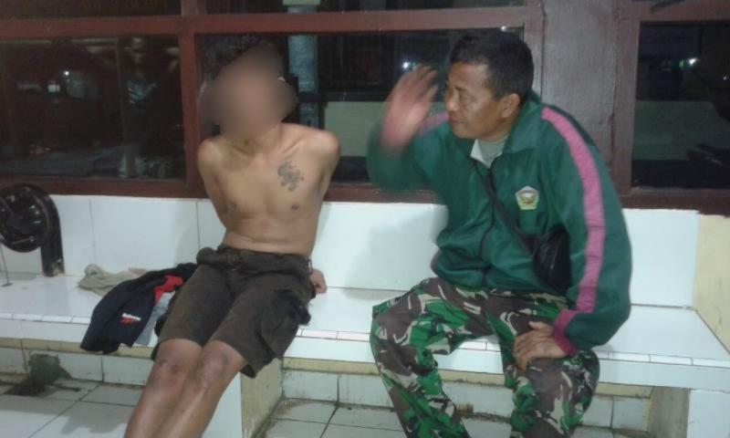 Polres BU Amankan Pemuda Yang Coba Bunuh Orang Tua