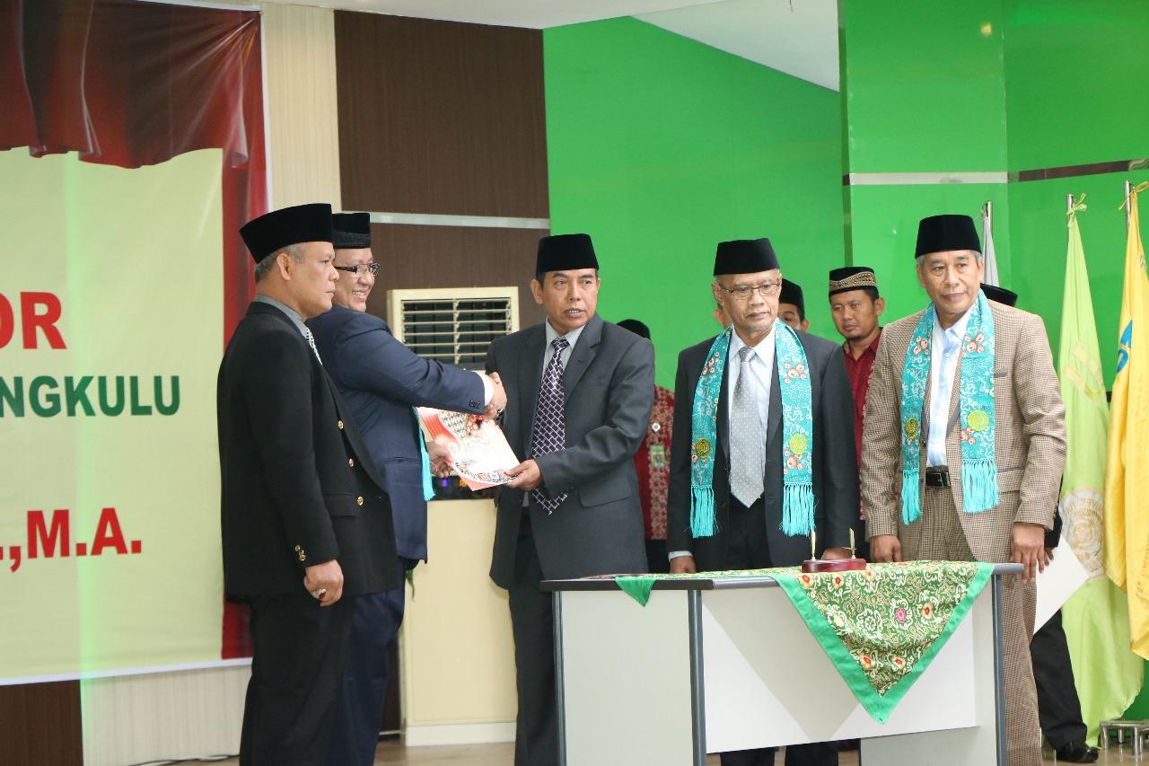 Kapolda Bengkulu Hadiri Pelantikan Rektor UMB