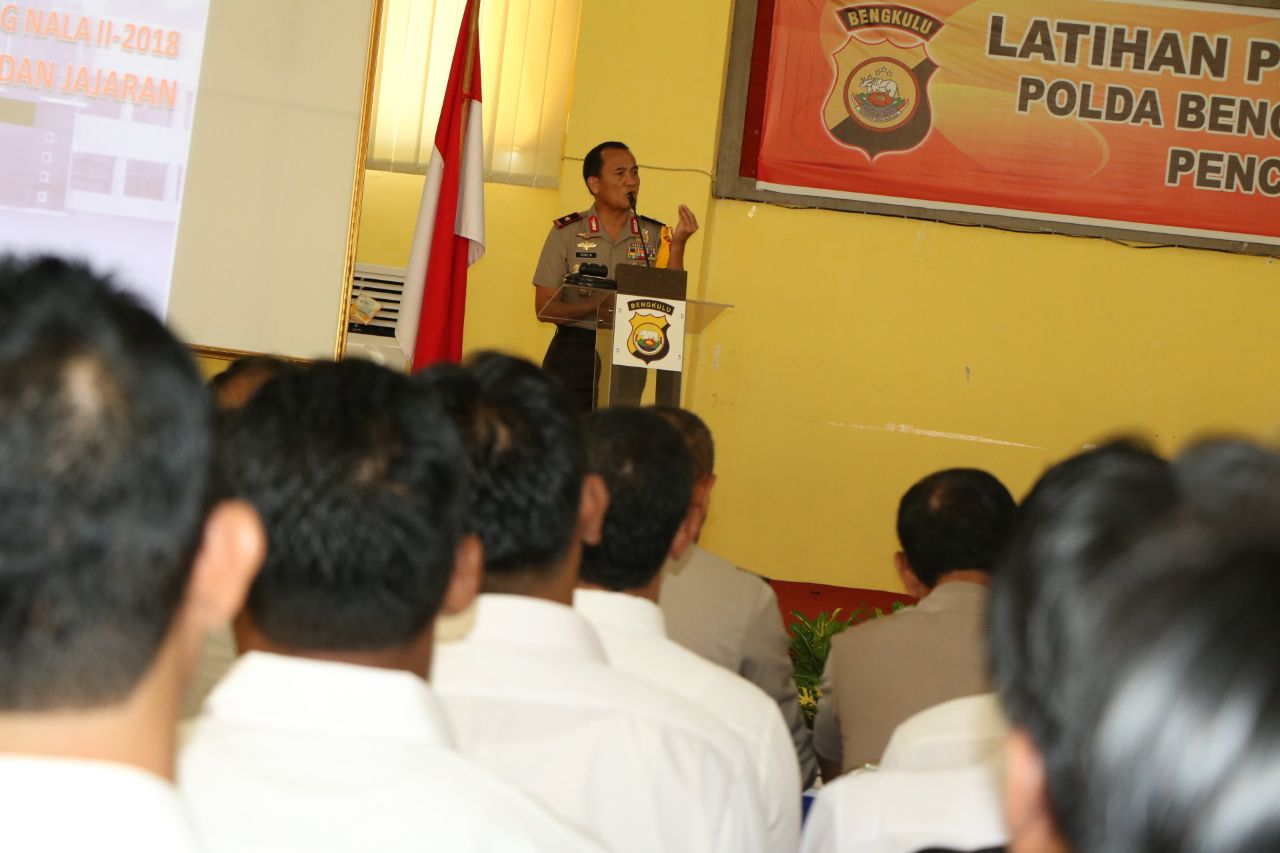 Basmi Street Crime, Polda Bengkulu Segera Gelar Operasi Musang Nala II