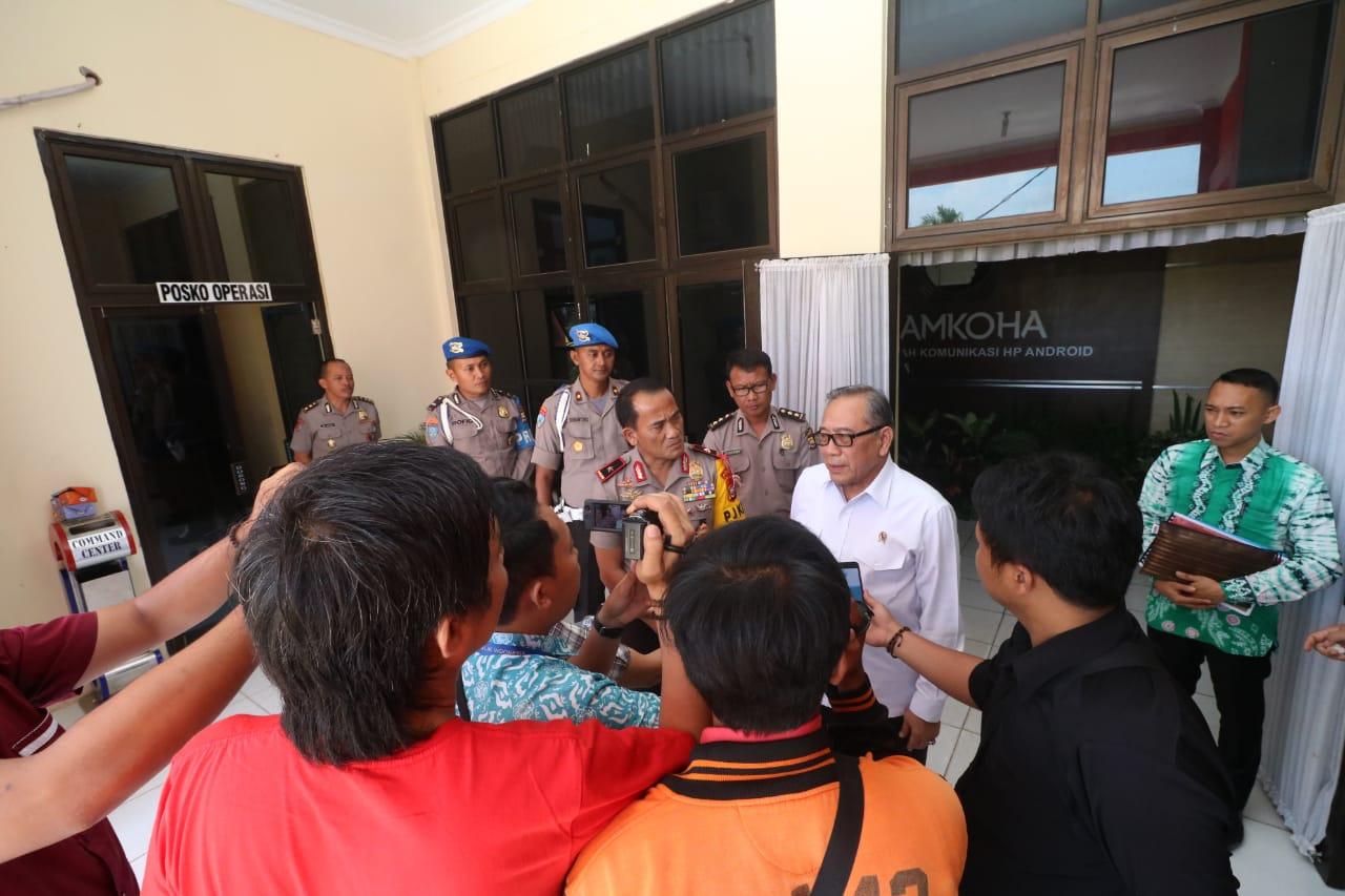 Sambut Kunker Watimpres, Kapolda Bengkulu Sampaikan Inovasi Sebagai Terobosan Pelayanan Kepolisian