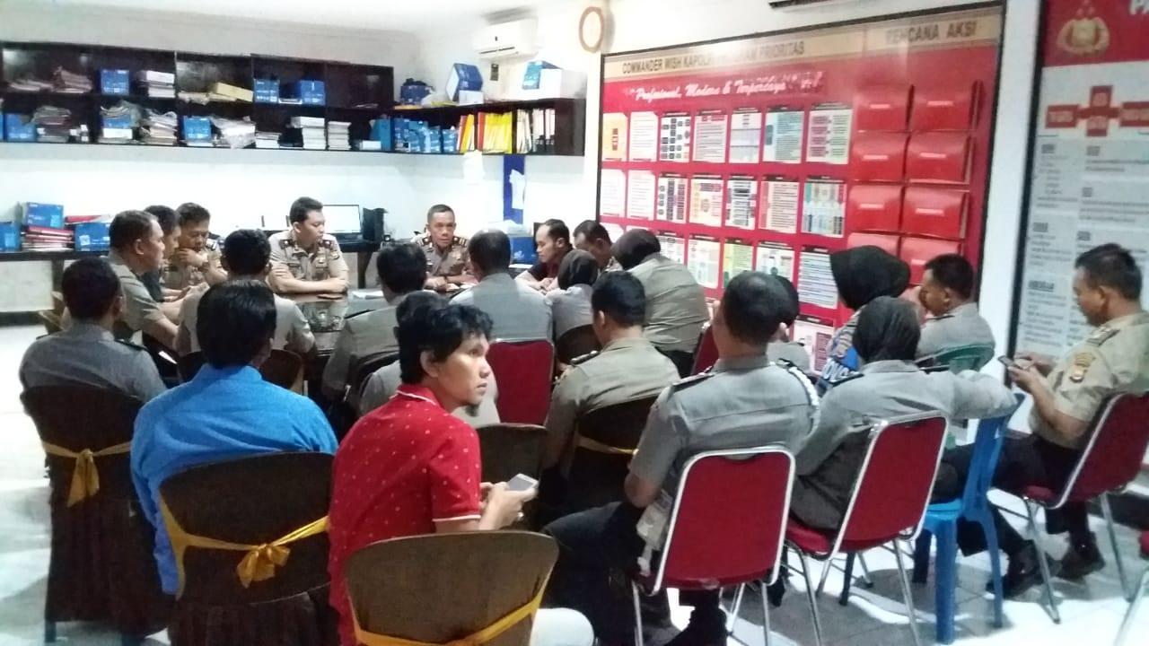 Operasi Bina Waspada, Polres Bengkulu Selatan Gelar Rakor