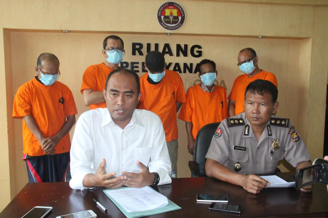 Polda Bengkulu Selamatkan Uang Negara 1.341.387.935