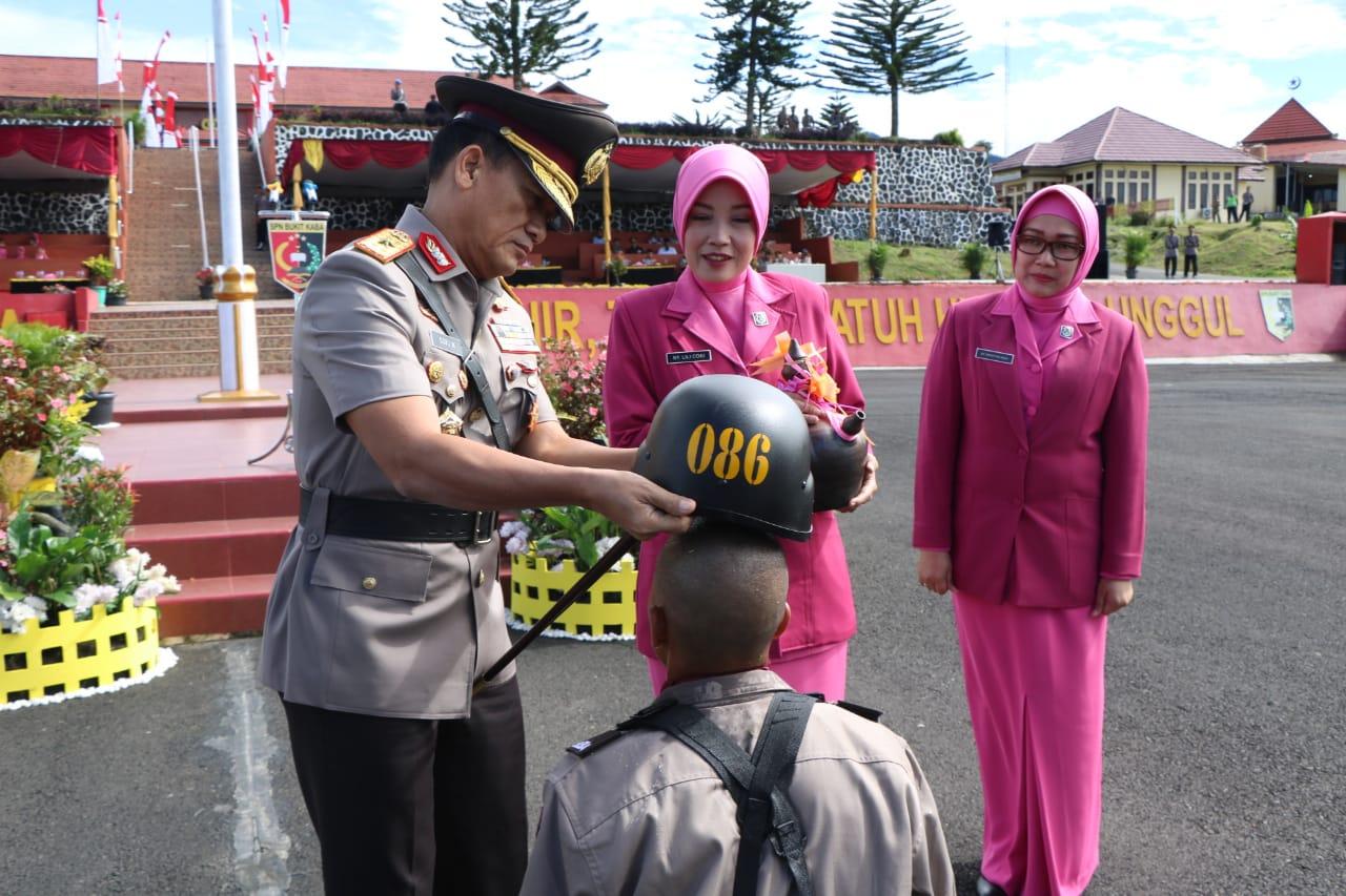 SPN Bukit Kaba Didik 125 Orang Dalam Pendidikan Pembentukan Bintara Polri