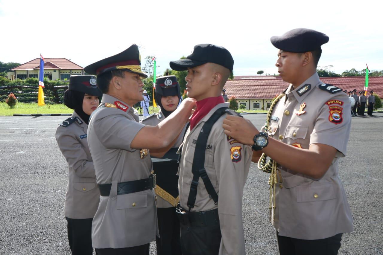 Kapolda Bengkulu Buka Secara Resmi Pendidikan SPN Bukit Kaba