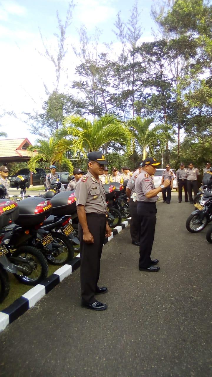 Pastikan Pelayanan Kepolisian Berjalan, Wakapolres Lakukan Pemeriksaan Kendaraan Dinas Bhabinkamtibmas