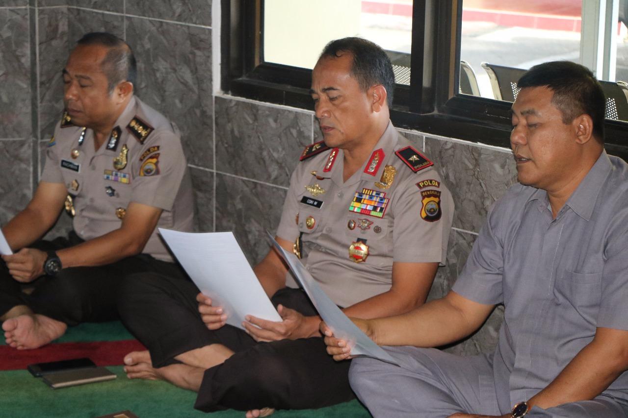 Binrohtal Polda Bengkulu, Ustad Lopi Ingatkan Akherat