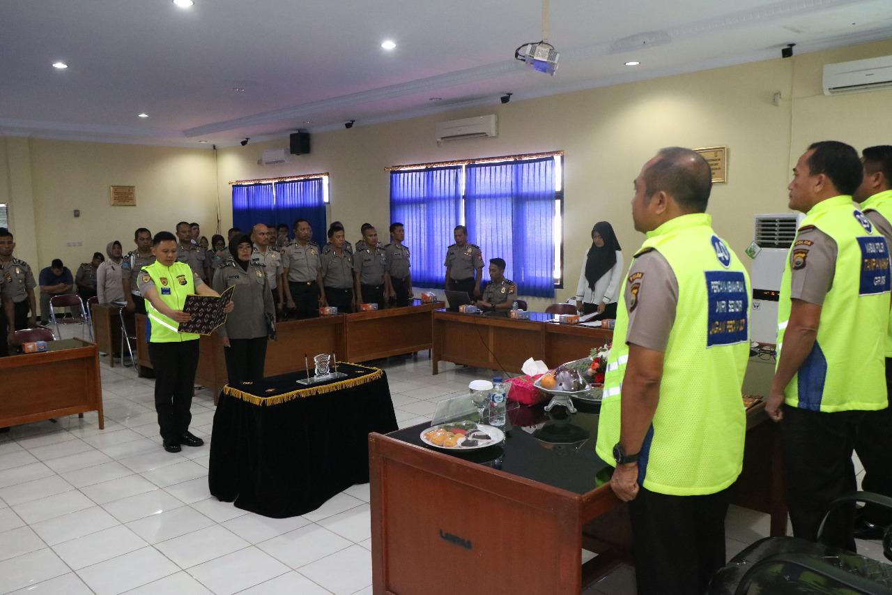Seleksi PAG 2018, Polda Bengkulu Laksanakan Penandatanganan Pakta Integritas