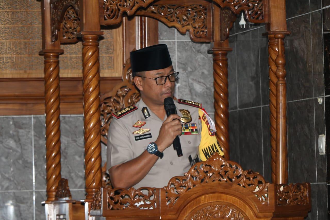 Wakapolda Bengkulu: Tabligh Akbar Wujudkan POLRI Beriman dan Bertaqwa