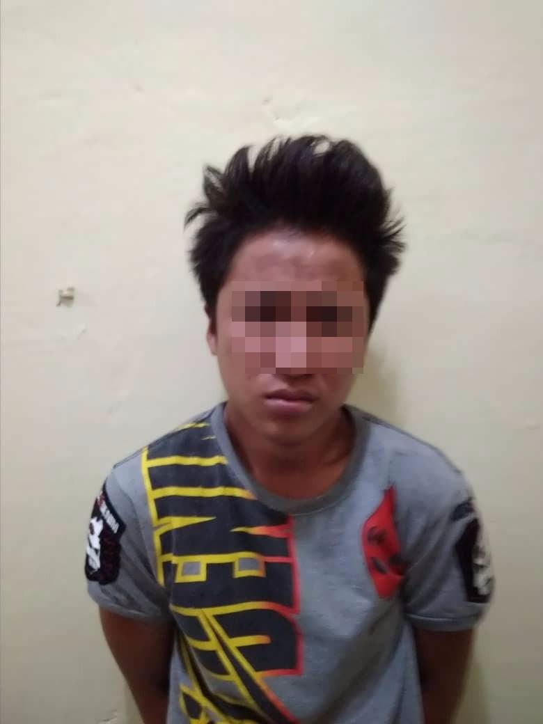 Polres Kepahiang Tangkap 1 Pelaku Jamor Yang Nekat Beraksi di Malam Hari