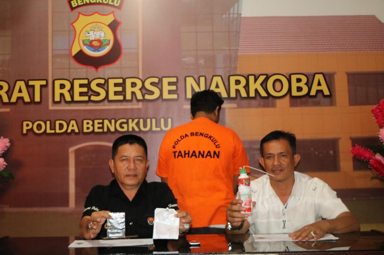 Warga Sawah Lebar Diciduk Polisi Bawa Narkoba