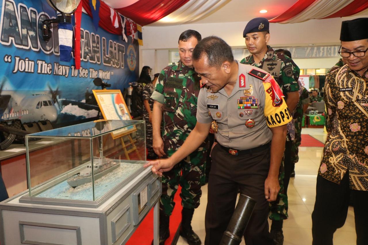 Kapolda Bengkulu Hadiri Pameran Alutsista TNI