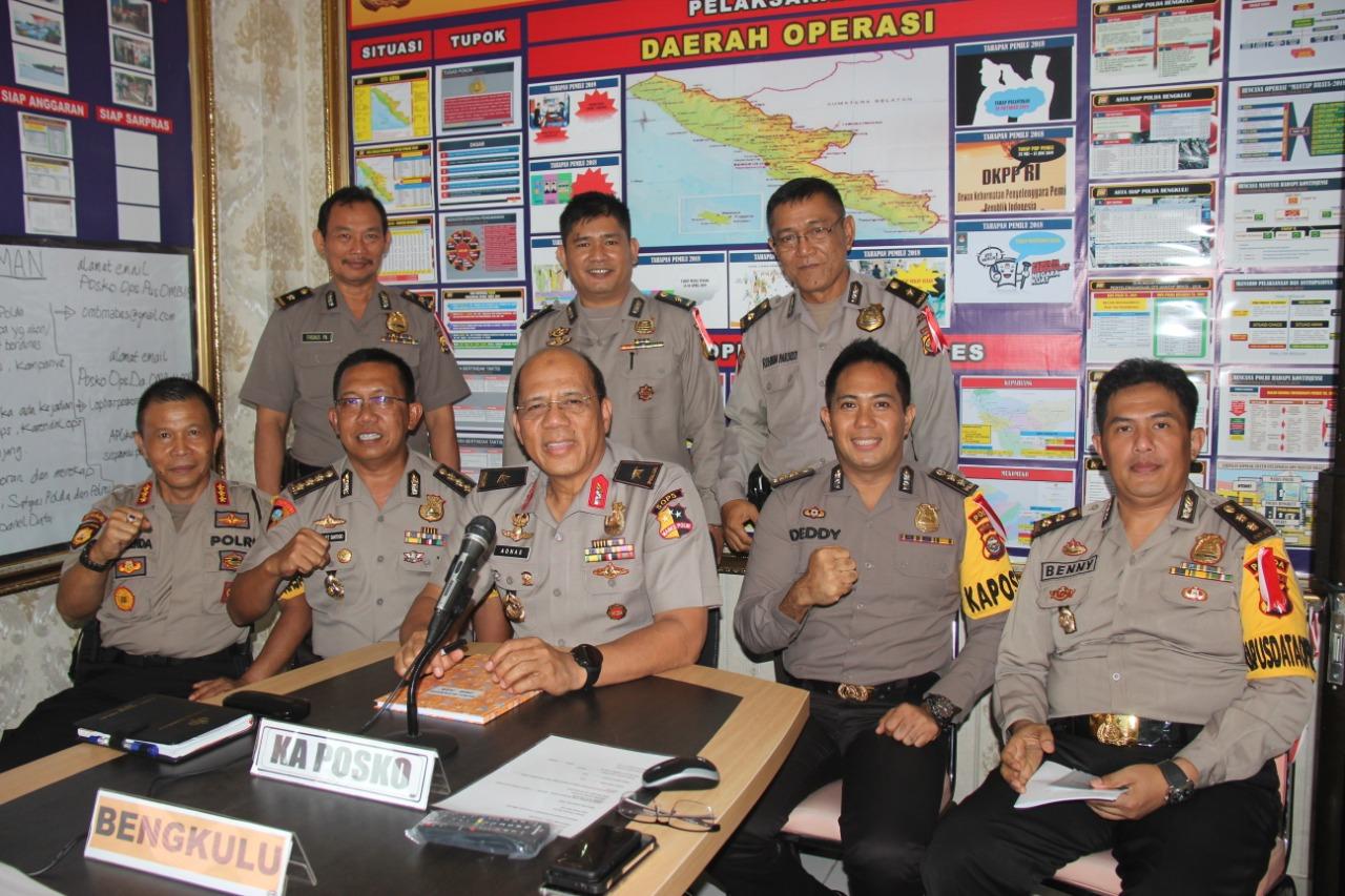 Supervisi Tim Mabes Polri di Polda Bengkulu
