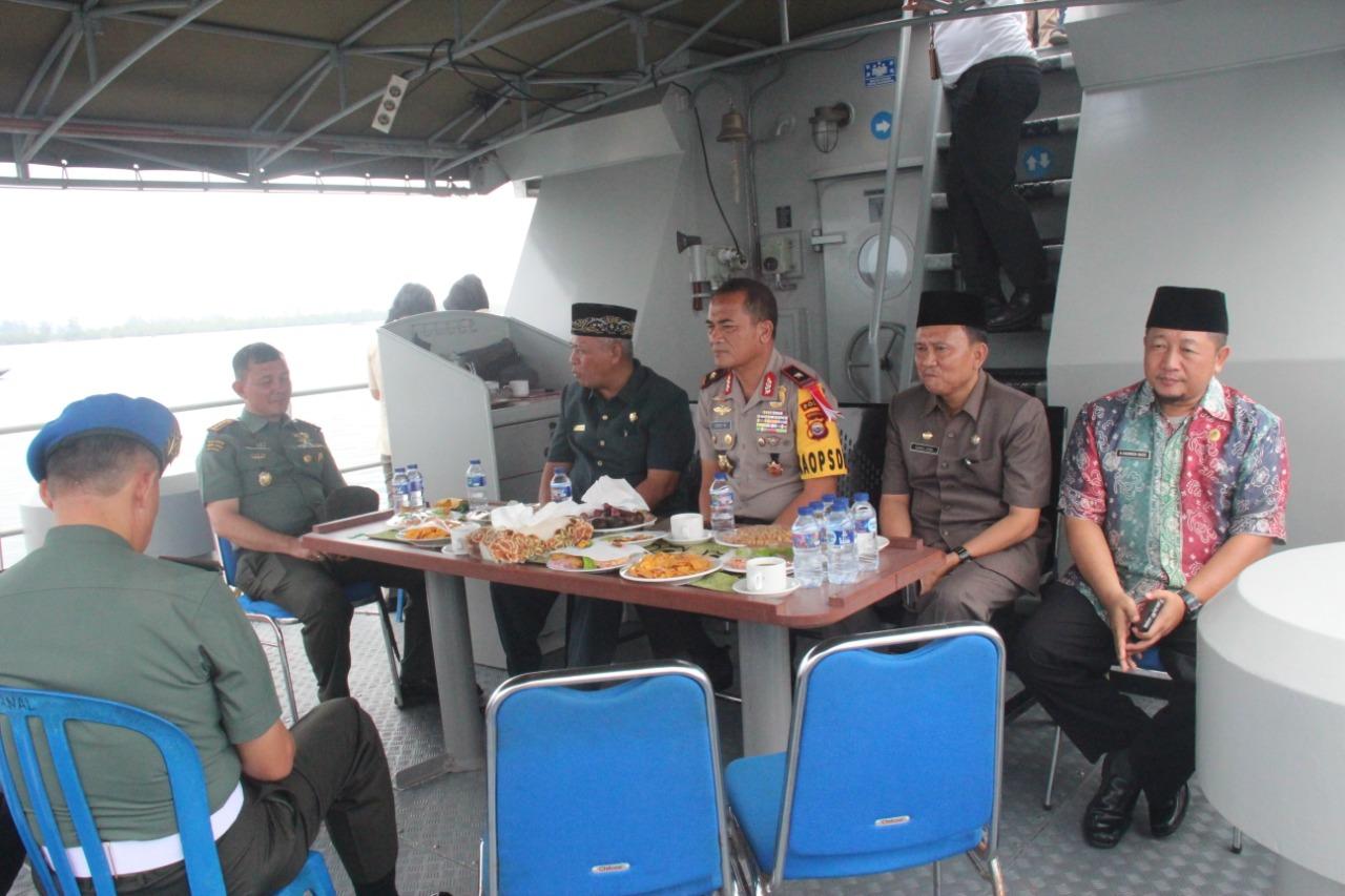 HUT TNI ke-73, Lanal Bengkulu Gelar Joy Sailing
