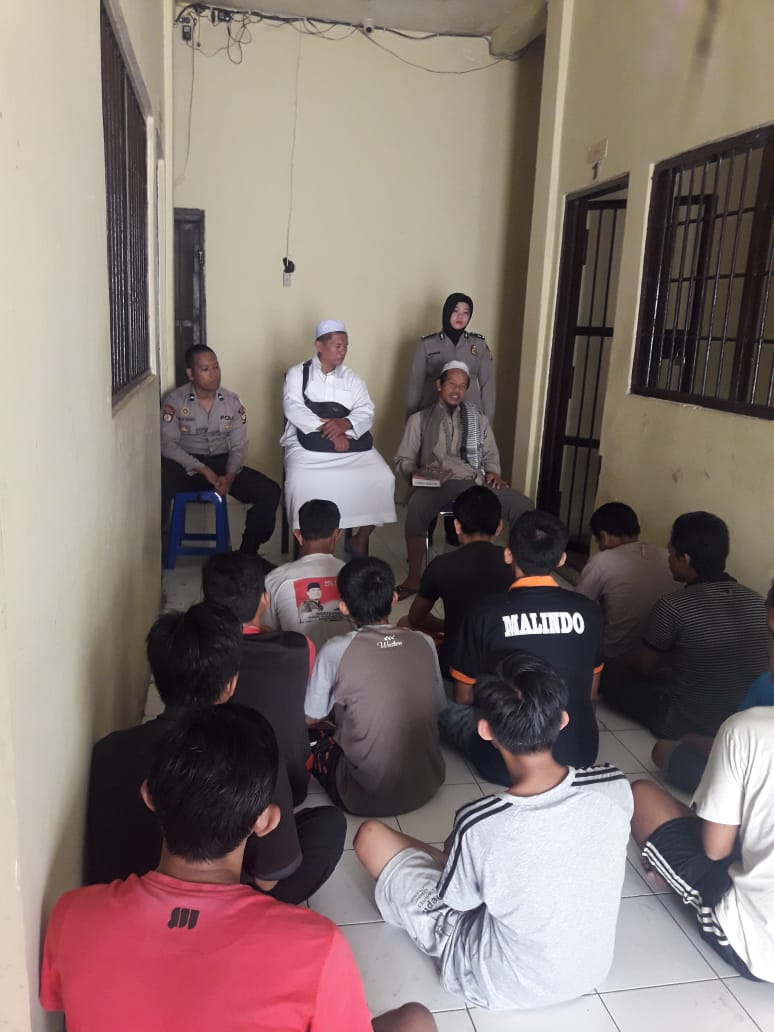 Gandeng Dai Kamtibmas, Polres Kepahiang Beri Siraman Rohani Para Tahanan
