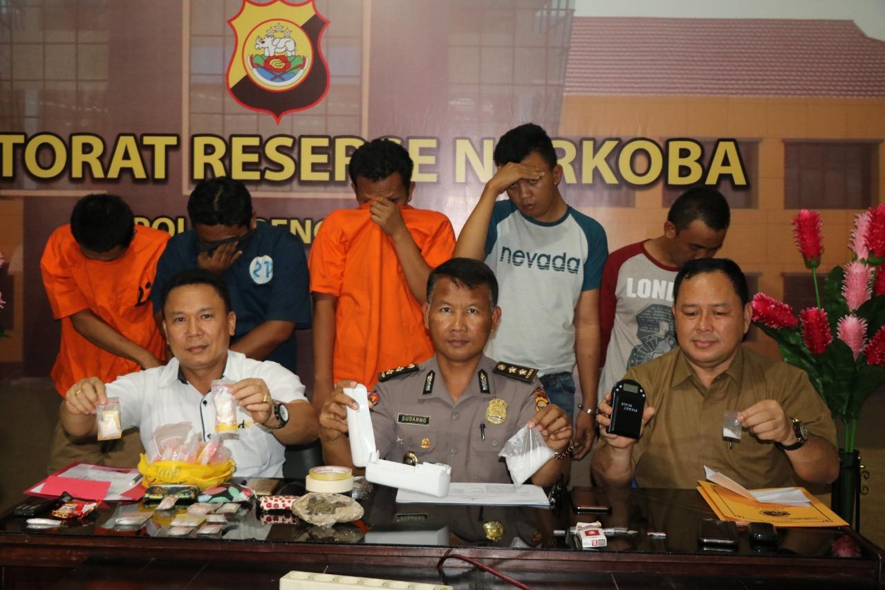 Polisi Tangkap 3 Oknum ASN Pelaku Penyalahgunaan Narkotika