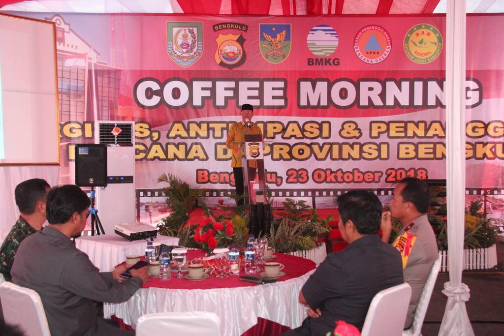 Plt Gubernur Bengkulu: Perlu Langkah Strategis dalam Penanganan Bencana