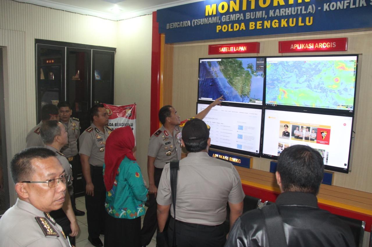 Team Menpan RB Dan Asrena Polri Kunjungi Polda Bengkulu