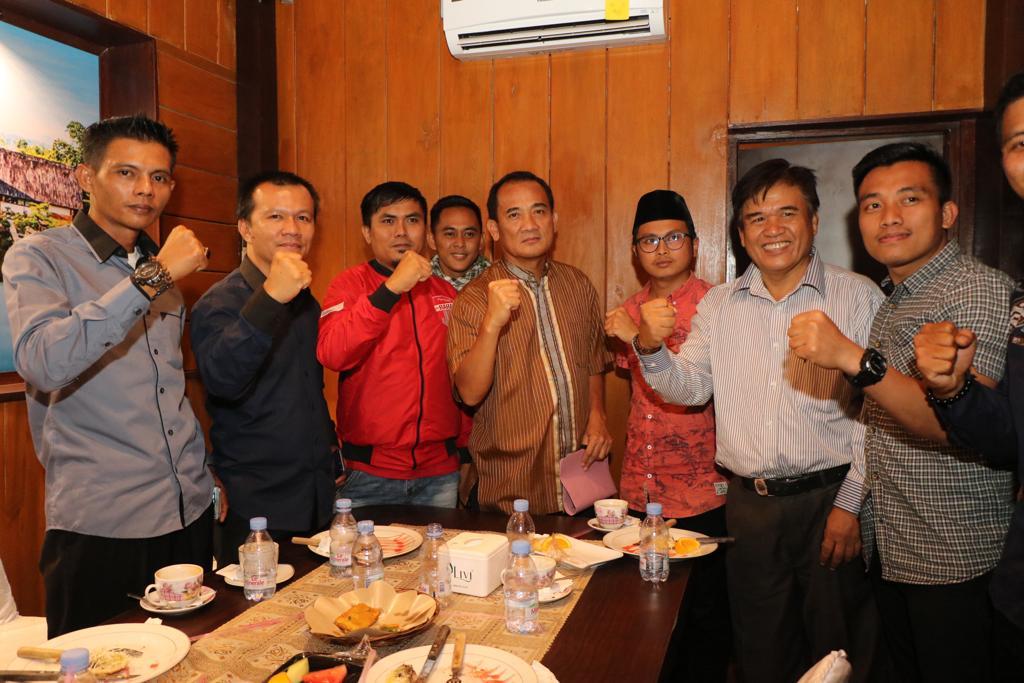 Kapolda Bengkulu Silaturahmi dan Makan Bersama Bahas Kondusifitas Bengkulu
