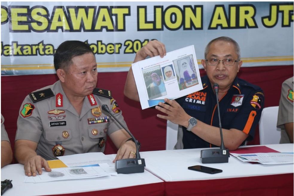 Polri Berhasil Identifikasi 1 Jenazah Korban Lion Air JT-610