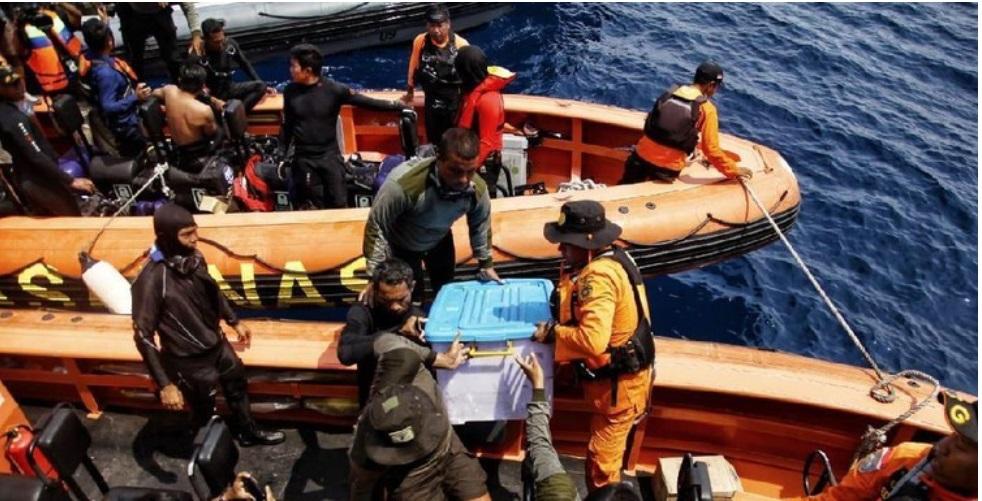 Akhirnya, Tim SAR Gabungan TNI-Polri dan Basarnas Temukan Black Box Pesawat Lion Air JT-610