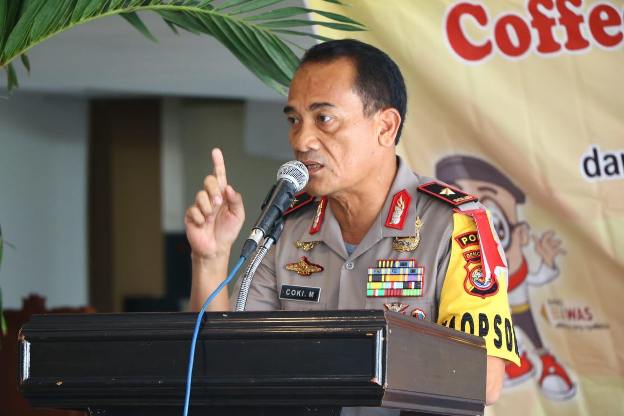 Kapolda Bengkulu: Segera Lakukan Asistensi di Wilayah Potensi Masalah Pemilu 2019