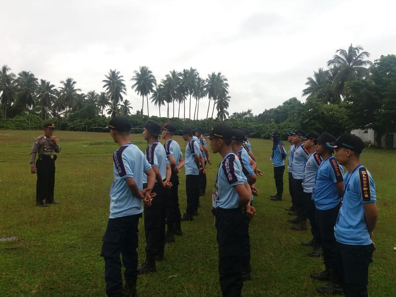 Harkamtibmas, Polres Bengkulu Selatan Gelar Latihan Dalmas Bersama Polsus Pas