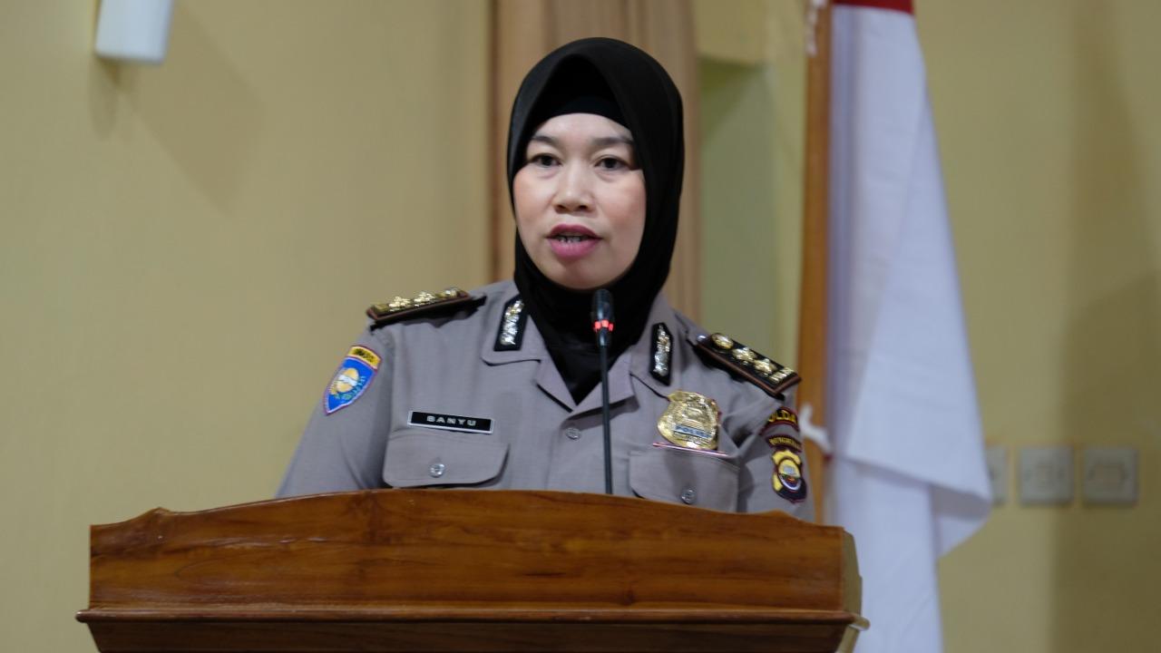 Kasubdit Satpam Polda Bengkulu Tutup Pelaksanaan Diksar Satpam